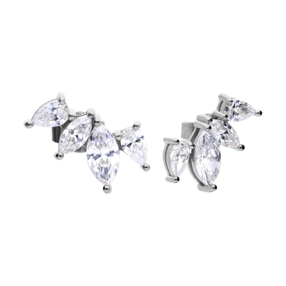 diamonfire-silver-white-zirconia-marquise-crawler-earrings-p20975-58789_image