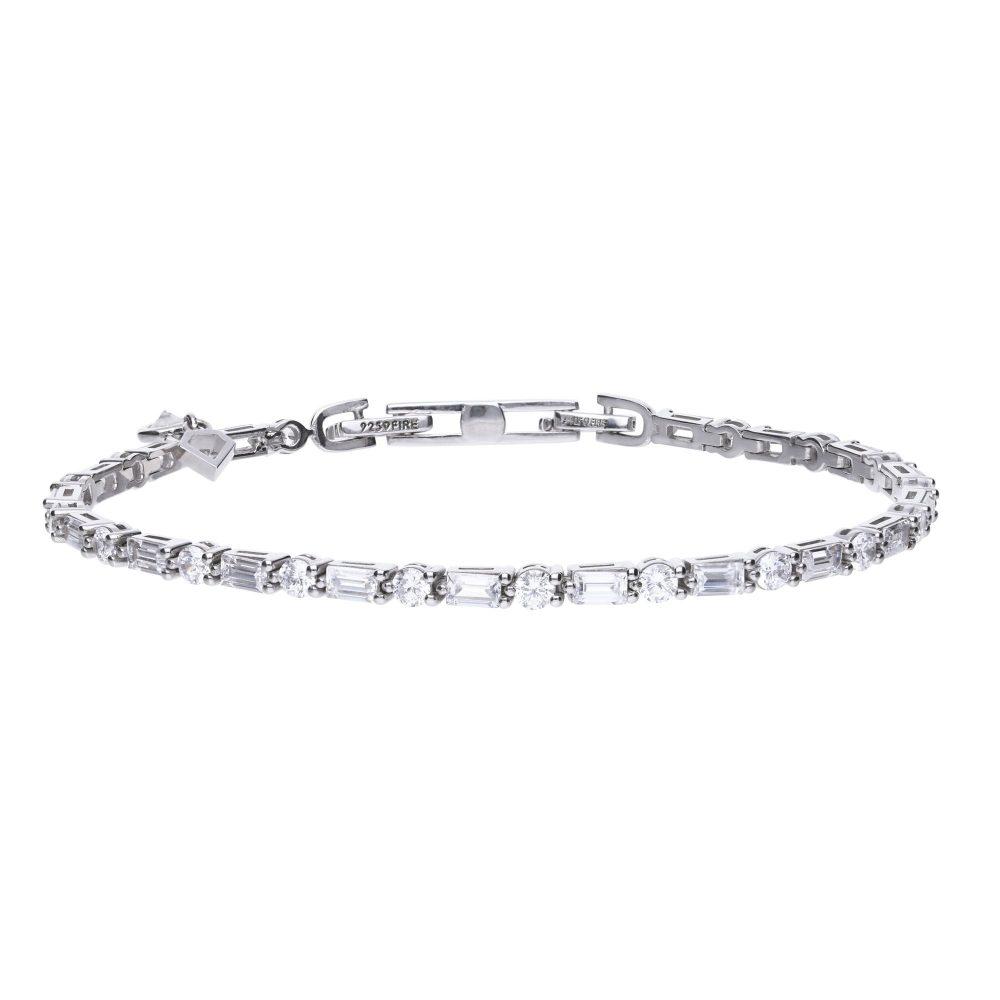 diamonfire-silver-with-white-zirconia-baguette-round-bracelet-p19714-55381_zoom