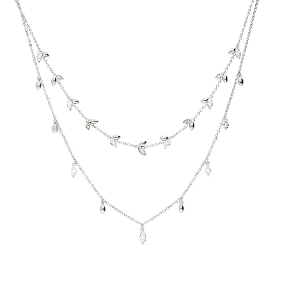 diamonfire-silver-with-white-zirconia-marquise-multi-stone-double-row-necklace-p20979-58795_zoom