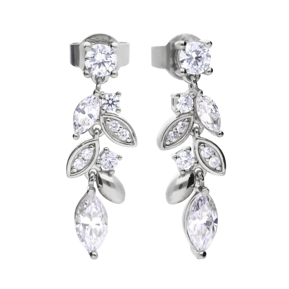 diamonfire-silver-with-white-zirconia-marquise-multi-stone-drop-earrings-p20974-58797_image