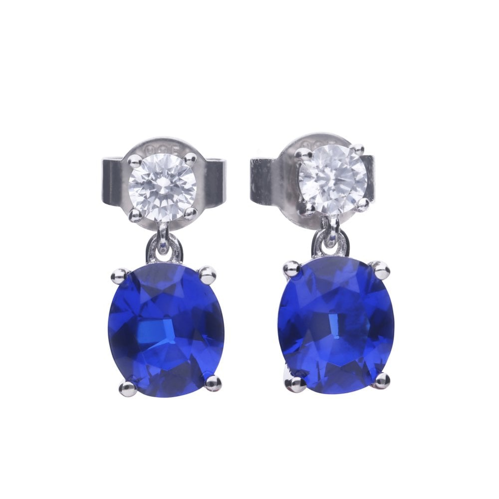 diamonfire-silver-with-white-zirconia-oval-sapphire-drop-earrings-p20969-58757_image